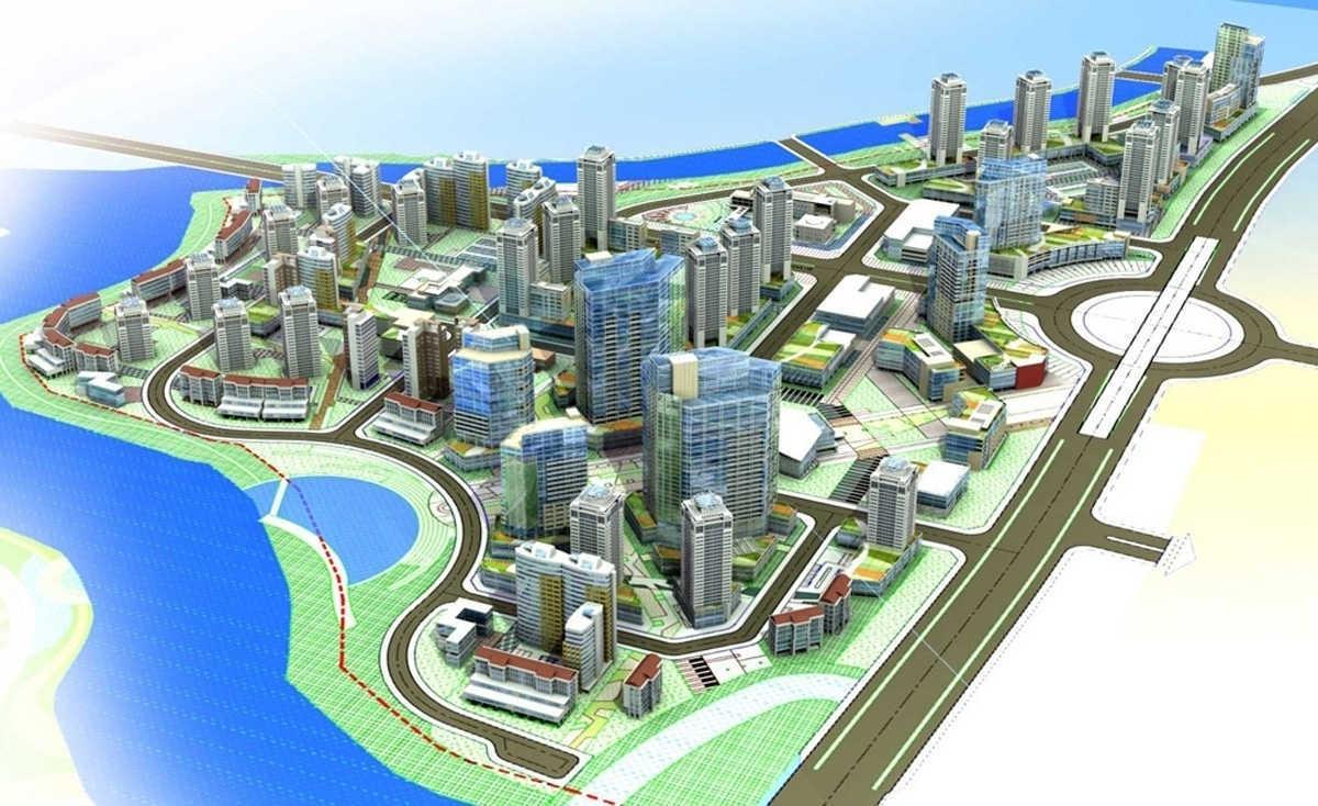 thiết kế tổng thể dự án gs metrocity nhà bè