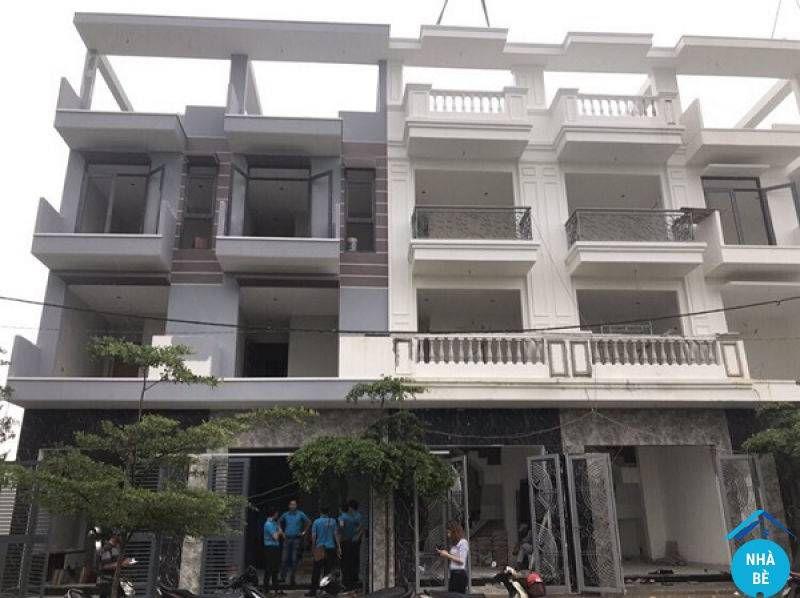 Bán nhà khu dân cư Sài Gòn Mới thị trấn Nhà Bè