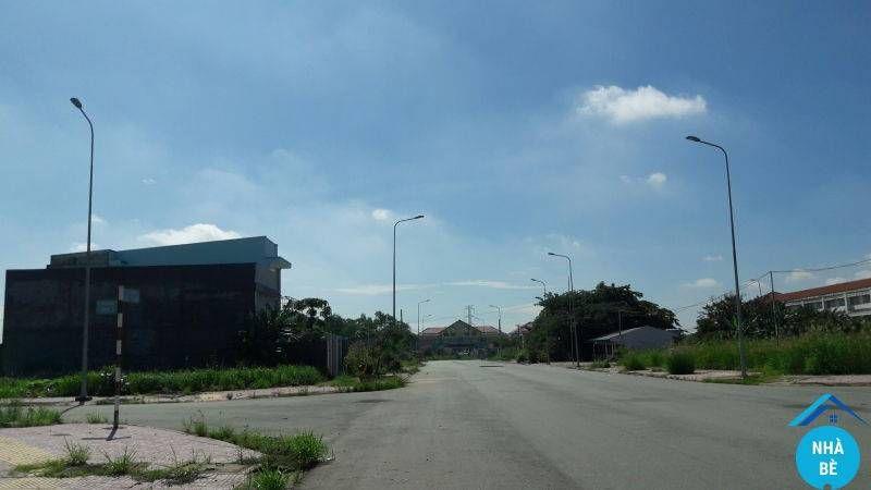 Bán lô đất 2 mặt tiền đường Bắc Nam hợp đồng dự án 28ha nhơn đức nhà bè