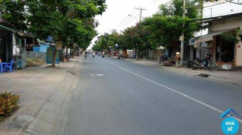 Bán đất thổ cư mặt tiền đường Nguyễn Bình Nhơn Đức Nhà Bè