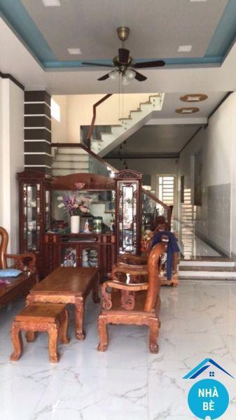 Bán nhà hẻm 477 Nguyễn Bình Phú Xuân Nhà Bè 1 trệt 2 lầu