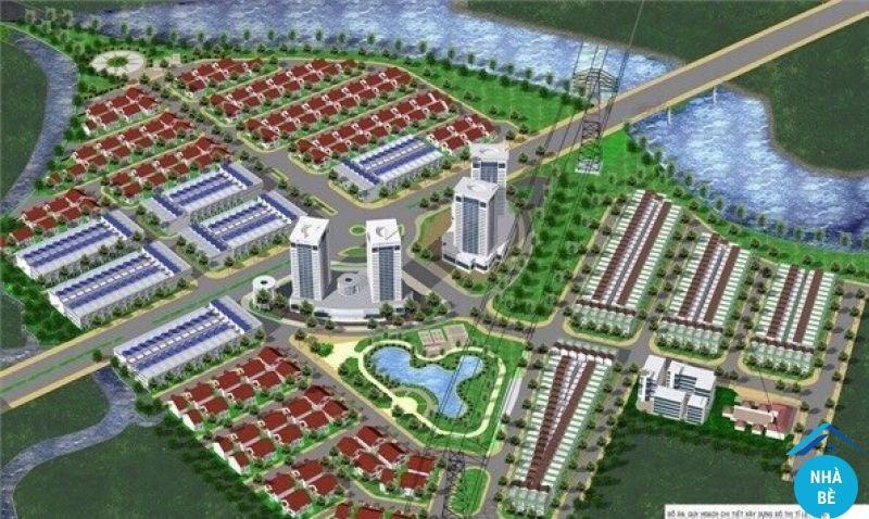 Bán đất dự án 28ha Nhơn Đức Nhà Bè 110m2