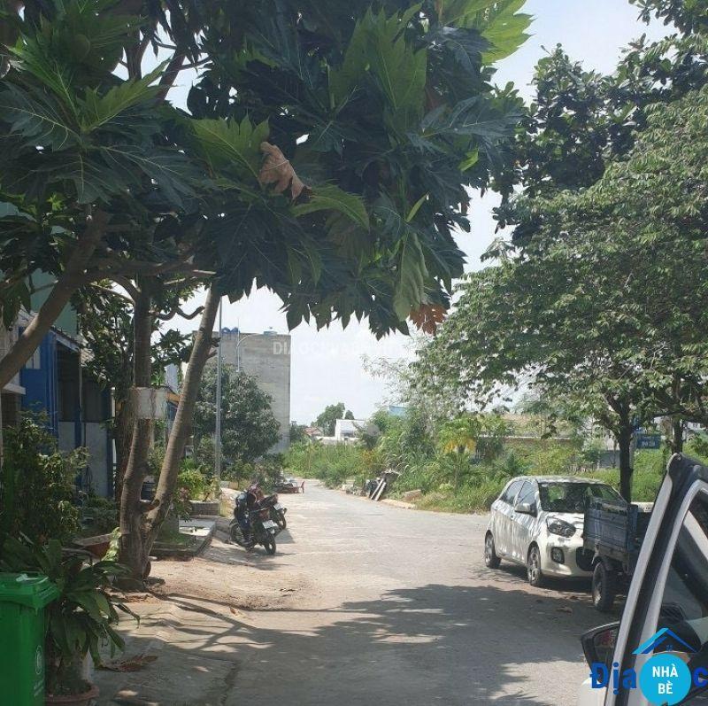 Bán đất đường D10 khu dân cư Long Hậu Nam Sài Gòn 90m2