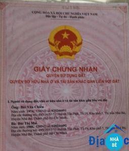 Bán nhà cấp 4 mặt tiền đường Nguyễn Bình Phú Xuân Nhà Bè