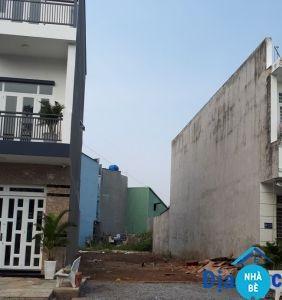 Bán đất nền Nhơn Đức hẻm 824 Nguyễn Bình Nhà Bè 124m2