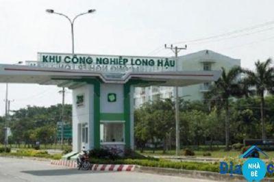 Bán đất đường D10 khu dân cư Long Hậu Nam Sài Gòn 100m2