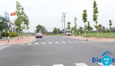 Bán đất đường số 10 kdc Thái Sơn Long Hậu 100m2