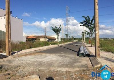 Bán đất khu dân cư Hoàng Hoa Long Hậu 64m2