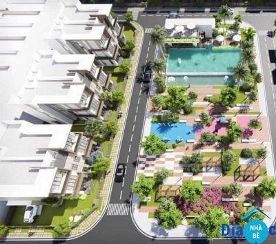 Nhà phố dự án Pax Residence Hòa Bình Nhà Bè 104m2