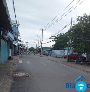Bán nhà mặt tiền đường Lê Văn Lương Nhơn Đức 163m2